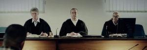 Anwalt und Richter bei Scheidung